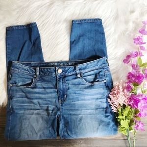 AEO Super Stretch Jegging Ankle Jeans